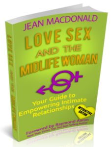 Love, Sex and the Midlife Woman book cover.